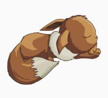 Sleepy Eevee Baby Tee