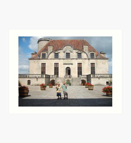 Chateau Duras Art Print
