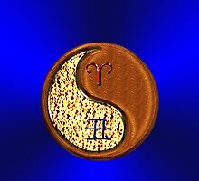 Aries & Ox Yin Wood by astrodesigner75