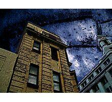 Dark Days In the City Photographic Print