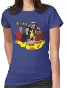 Das Yellow Boot Womens Fitted T-Shirt