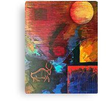 "Ancient Bull, 24"" x 30"" Canvas Print"