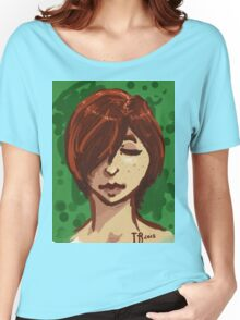 Tranquil Green Women's Relaxed Fit T-Shirt