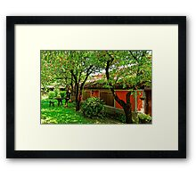 Traditional house in Koprivshtitsa, Bulgaria # 4 Framed Print