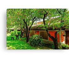 Traditional house in Koprivshtitsa, Bulgaria # 4 Canvas Print