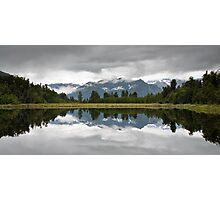 lake matheson Photographic Print
