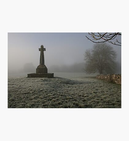 Frosty morning at Dysert o Dea Photographic Print