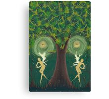 Interlude of the Doppelganger Canvas Print