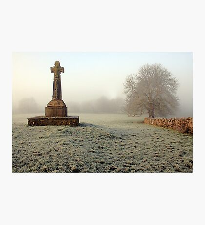 Dysart O Dea Celtic Cross Photographic Print