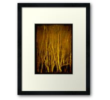 River Thames abstract Framed Print