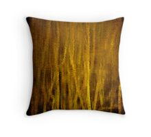 River Thames abstract Throw Pillow
