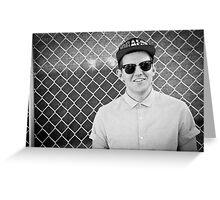 Dillon Francis - Black & White Photo Greeting Card