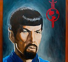 Mirror Mirror Spock by iamdeirdre