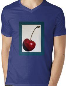 Cherry- Warhol Mens V-Neck T-Shirt