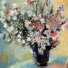 Bouquet of Mallows after Monet by Lorenzo Castello