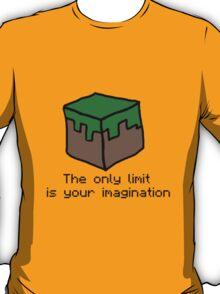 Minecraft Imagination Quote T-Shirt