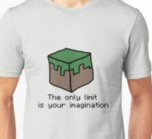 Minecraft Imagination Quote Unisex T-Shirt