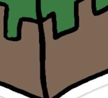 Minecraft Imagination Quote Sticker