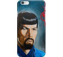 Mirror Mirror Spock iPhone Case/Skin