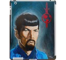 Mirror Mirror Spock iPad Case/Skin
