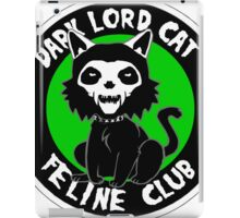 DARK LORD CAT FELINE CLUB iPad Case/Skin