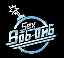 Sex Bob-Omb band shirt mug poster pillow by lavalamp