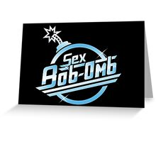 Sex Bob-Omb band shirt mug poster pillow Greeting Card