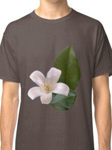 Single White Blossom Classic T-Shirt