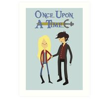 Once Upon An Adventure Time Art Print