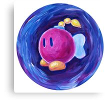 Bombette from Paper Mario Canvas Print