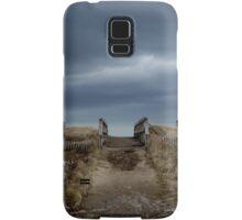 Melmerby Beach Boardwalk Samsung Galaxy Case/Skin