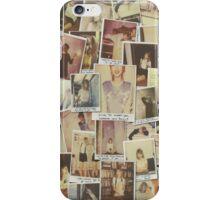 Taylor Swift Polaroids  iPhone Case/Skin