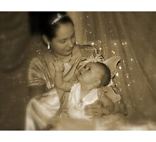 A Mother's Touch Photographic Print