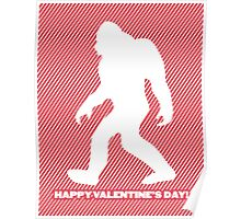 Yeti Valentine Poster