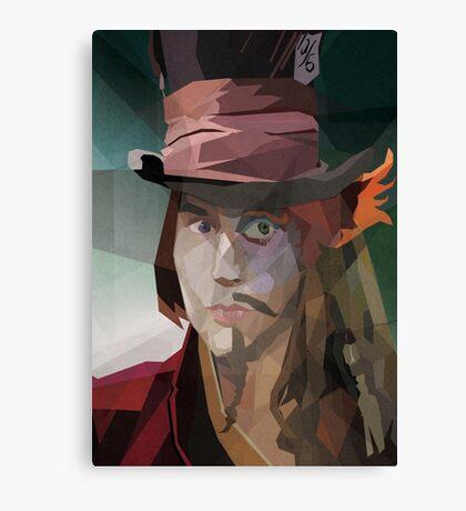 Depp Cubism Canvas Print