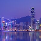 Hong Kong City Lights by Kirk  Hille
