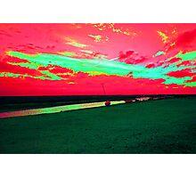 Martian Sunset over Blakeney Photographic Print