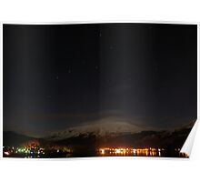 Lochgilhead at night Poster