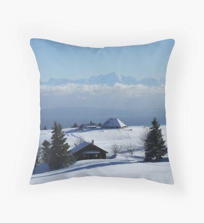 Mont-Blanc Throw Pillow