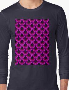 Pattern Retro Style Long Sleeve T-Shirt