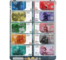 Final Fantasy Gil Banknote Collection iPad Case/Skin