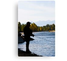Call of the River Canvas Print