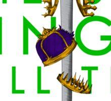Queen Rises 3/5 Sticker