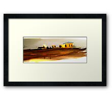 Country Time Framed Print