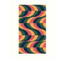 Psychedelic Wave Art Print
