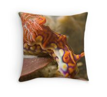 Miamira Magnifica Nudibranch Throw Pillow