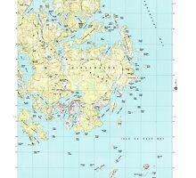 Maine USGS Historical Map Vinalhaven 103065 2000 24000 by wetdryvac