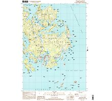 Maine USGS Historical Map Vinalhaven 103065 2000 24000 Photographic Print