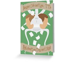 Me and You, I Do Greeting Card