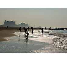 Morning At the Shore. Peaceful color photograph. Photographic Print